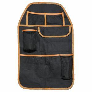 4-Home Organizer na przedni fotel samochodowy Orange, 37,5 x 58,5 cm