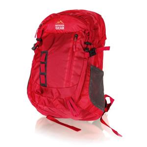 4-Home Outdoor Gear Plecak turystyczny Track czerwony, 33 x 49 x 22 cm