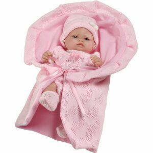 4-Home Berbesa Lalka Dzidziuś Valentina różowy, 28 cm