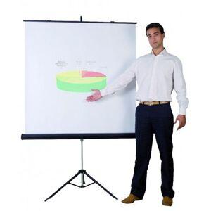 BI-OFFICE Ekran projekcyjny na trójnogu BI-OFFICE 1520x1520mm