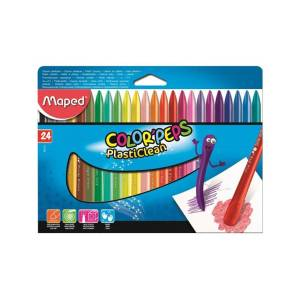 Maped Kredki plastikowe Maped Colorpeps 24 kolory