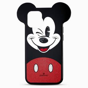Swarovski Etui na smartfona Mickey, iPhone® 12 Pro Max, różnokolorowa  - Dark Multi