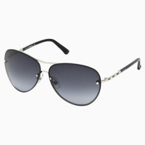 Swarovski Okulary przeciwsłoneczne Fascinatione, SK0118 17B, czarne  - Czarny