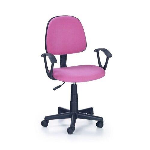 Halmar DARIAN BIS fotel młodzieżowy różowy