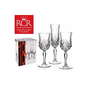 RCR Komplet 18 cz. kieliszków do win i szampana OPERA RCR