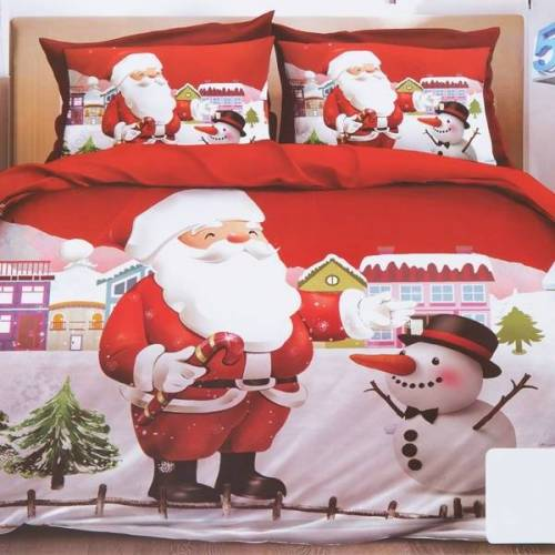 Pościel świąteczna 140x200 komplet 2-CZĘŚCI - Pościele
