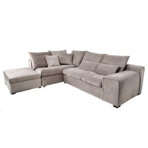 Miloo Home Sofa narożna Cobra z Otomaną lewą 270x313x75cm