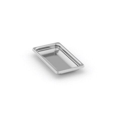 B2B Partner Pojemnik gastronomiczny ze stali nierdzewnej gn 1/3, 325x176x20 mm