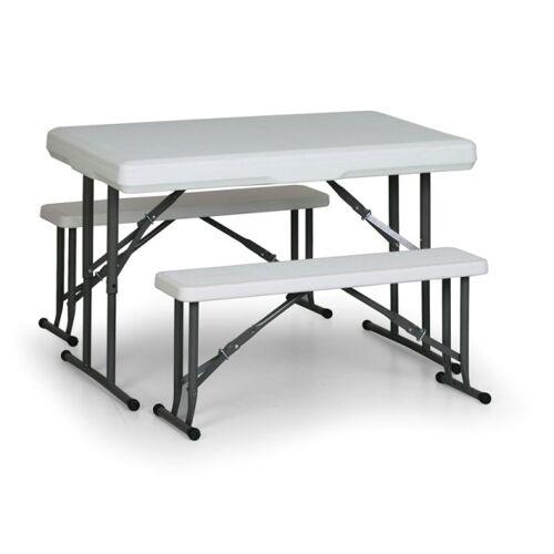 B2B Partner Zestaw cateringowy piknik, 2x ławka, 1x stół