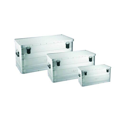 Alpos Aluminiowa skrzynka transportowa, 47 l, 580x380x275 mm