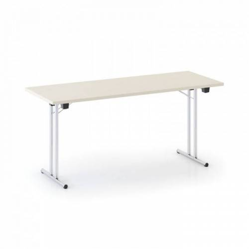 B2B Partner Stół składany fold, 1600 x 800 mm, brzoza