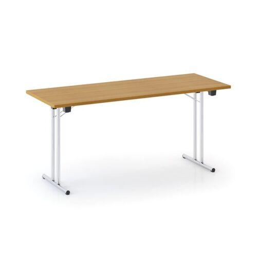 B2B Partner Stół składany fold, 1600 x 800 mm, czereśnia