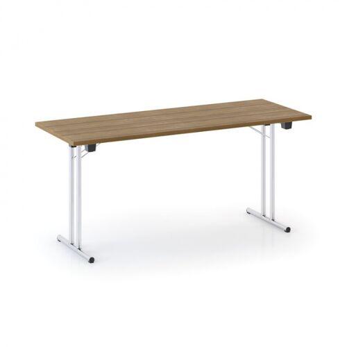 B2B Partner Stół składany fold 1600 x 800 mm, orzech