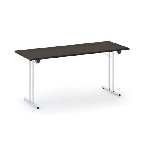 B2B Partner Stół składany fold 1600 x 800 mm, wenge