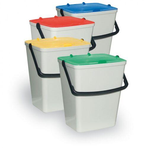 Artplast Plastikowe kosze na śmieci - zestaw 4 x 15 l