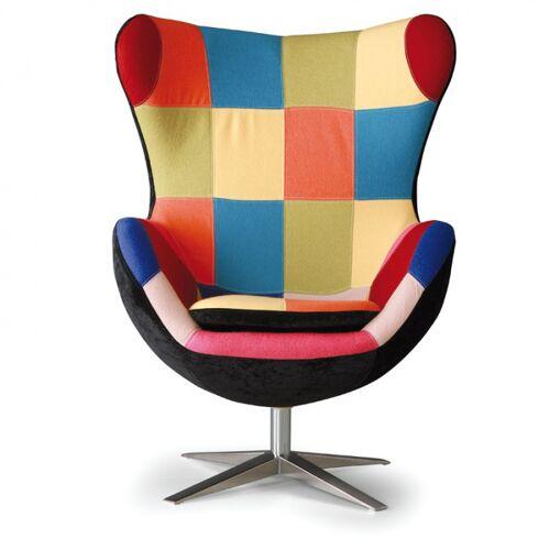 B2B Partner Fotel obrotowy rilla patchwork