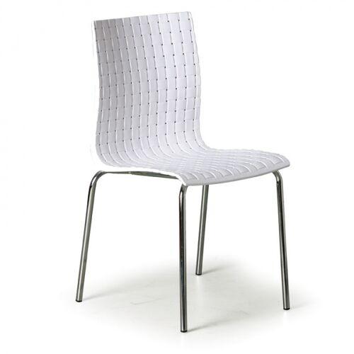 B2B Partner Krzesło plastikowe mezzo, białe