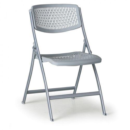 B2B Partner Krzesło składane click, szare