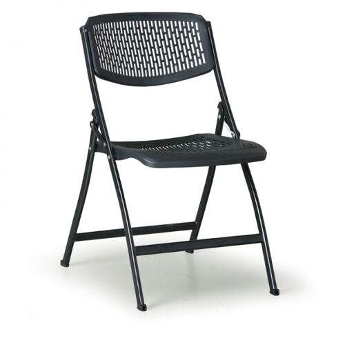 B2B Partner Krzesło składane click, czarne