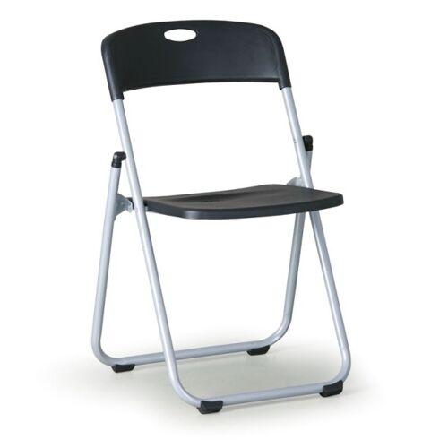 B2B Partner Krzesło składane clack, czarne