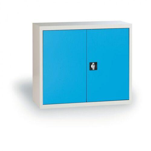 B2B Partner Metalowa szafa demontowana, 800 x 850 x 390 mm, niebieski