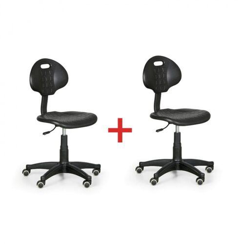 B2B Partner Krzesło robocze pur 1+1 gratis