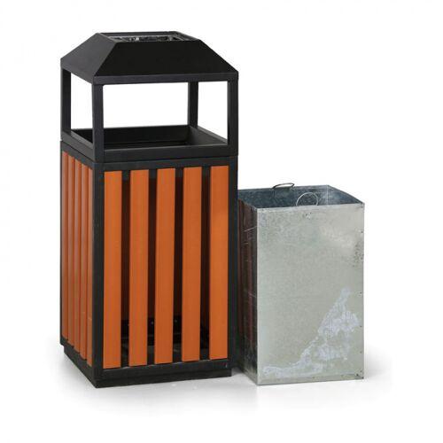 B2B Partner Kosz na śmieci z popielniczką, zewnętrzny