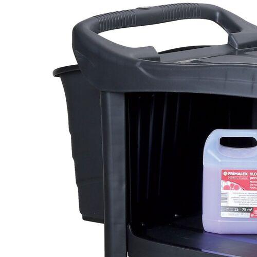 B2B Partner Zawieszany kosz do wózka do sprzątania, 34 cm