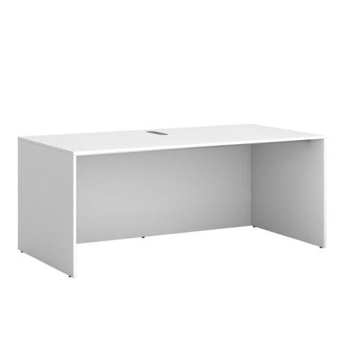 PLAN Stół roboczy głęboki, biały