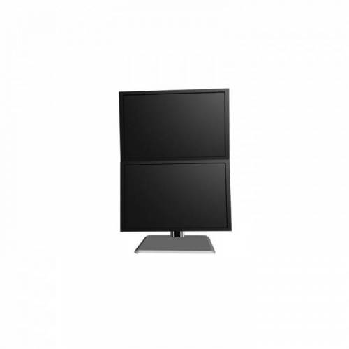B2B Partner Uchwyt na dwa monitory, stojakowy