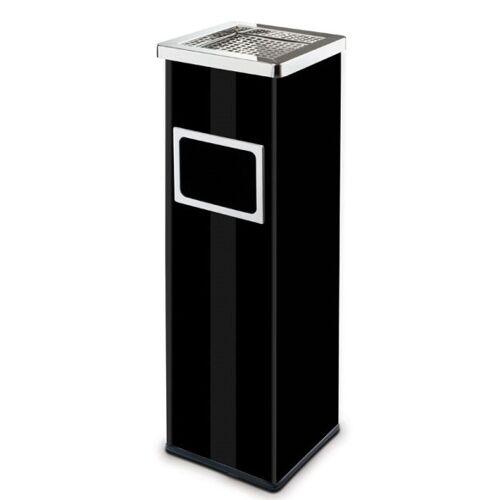 Alda Kosz na śmieci z popielniczką i wewnętrznym pojemnikiem, 22l,