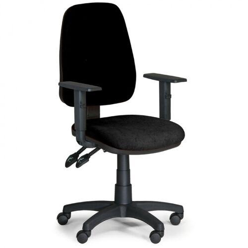 B2B Partner Krzesło biurowe alex z podłokietnikami - czarny
