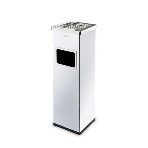 Alda Kosz na śmieci z popielniczką i wewnętrznym pojemnikiem 22l,