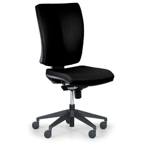 Antares Krzesło biurowe leon plus, czarny - bez podłokietników