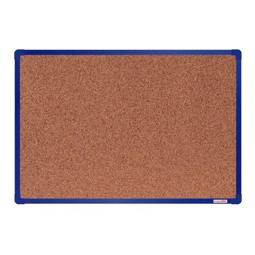 boardOK Tablica korkowa boardok, 60 x 45 cm, niebieska aluminiowa rama