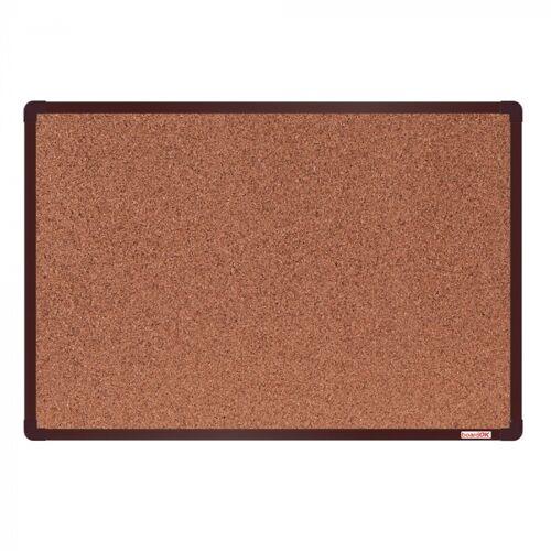 boardOK Tablica korkowa boardok, 60x90 cm, brązowa aluminiowa rama
