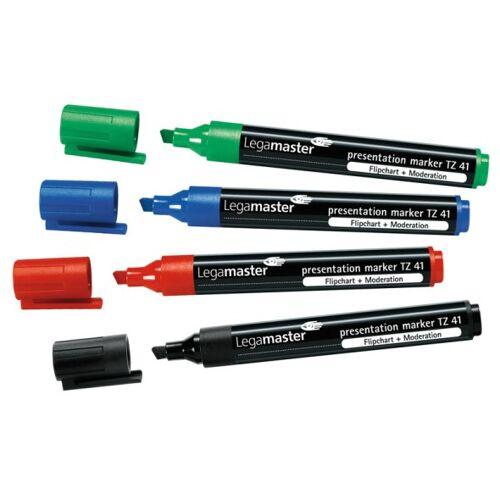 B2B Partner Zestaw markerów do flipchartów, 4 kolory