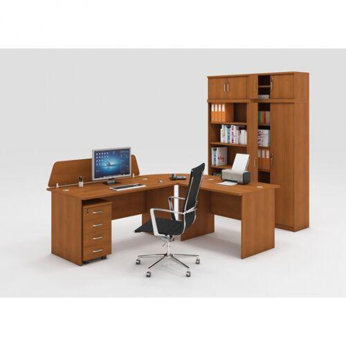 B2B Partner Zestaw mebli biurowych mirelli a+, typ a, czereśnia