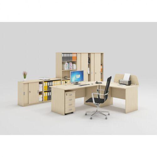 B2B Partner Zestaw mebli biurowych mirelli a+, typ b, brzoza
