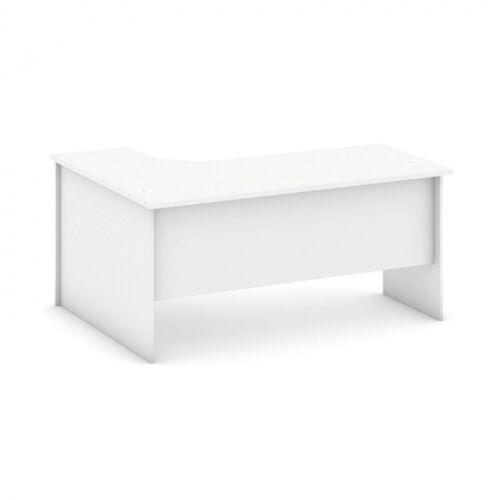 B2B Partner Biurko ergonomiczne prawe, biały