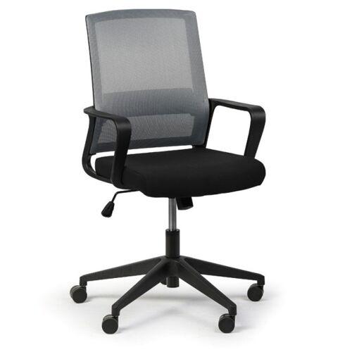 B2B Partner Krzesło biurowe low, szary