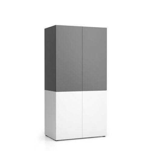 PLAN Szafka kuchenna nika 1000 x 600 x 2000 mm, grafit
