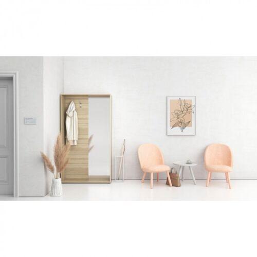 PLAN ścianka na ubrania (wieszak) z półką na obuwie i zwierciadłem, 2