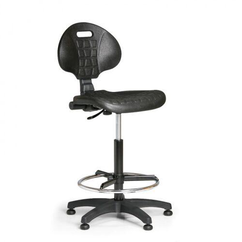 B2B Partner Krzesło pur, stały kontakt, ślizgacze