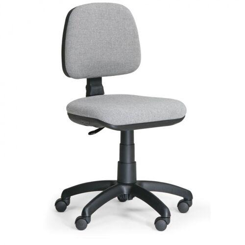 B2B Partner Biurowe krzesło milano bez podłokietników - szare