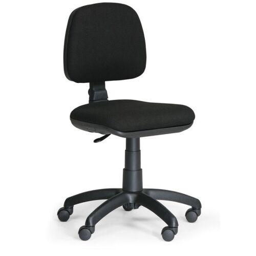 B2B Partner Biurowe krzesło milano bez podłokietników - czarne