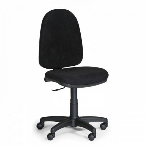 B2B Partner Biurowe krzesło torino bez podłokietników - czarne