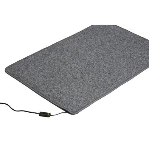 B2B Partner Podgrzewany dywan, 60 x 90 cm, brązowy