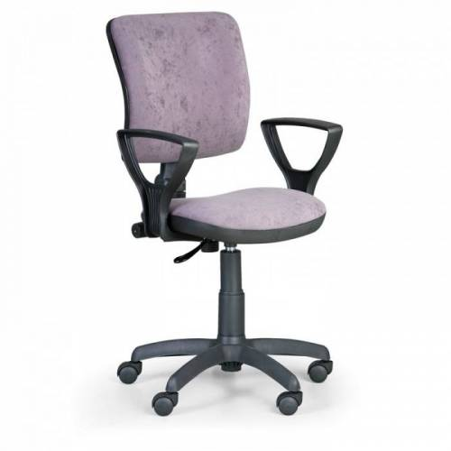 B2B Partner Krzesło biurowe milano ii z podłokietnikami - szare