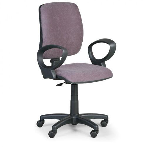 EUROSEAT Krzesło biurowe torino ii z podłokietnikami - szare